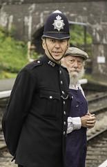 LWC_3492 (Man with a Hat) Tags: northnorfolkrailway dadsarmy weybourne nnr