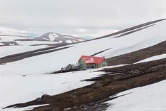 Day 1: Arriving at Hrafntinnusker Hut (soumit) Tags: trek iceland august hike icefield hrafntinnusker 2015 laugavegurinn laugavegurtrail trekis