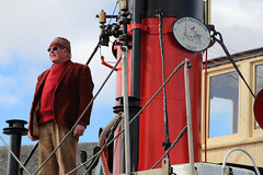 Nick in charge (chessieboater) Tags: scotland puffer vic32