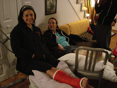 3587631619_760b894709 (cb_777a) Tags: broken foot toes leg cast crutches ankle