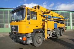 MAN 26.302 6x4 BB (Vehicle Tim) Tags: man truck f90 beton fahrzeug lkw laster m90 betonpumpe