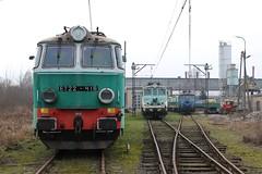 PKP, ET22-418 (Chris GBNL) Tags: train pozna pkp pociag polskiekolejepastwowe et22 eu07 pkpcargo et22418 eu07118 eu07123