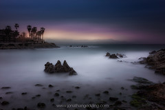 (JGP76) Tags: ocean longexposure sunset sea snow france mountains beach rocks palmtrees antibes