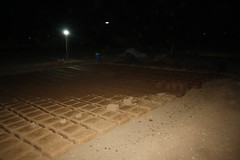 Clay bricks drying (Jiyan Foundation) Tags: jiyan foundation humanrights iraq irak night nacht ramadan chamchamal heilgarten clay stables construction architecture therapy architektur tradition roswag architekten healinggarden kurdistan