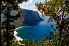 IMG_5045_6_7HDR (The.Rohit) Tags: ocean hawaii coast view hill lookout valley vista bigisland aloha waipio hamakua hawaiiisland waipiovalleylookout