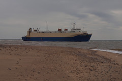 2016_05_0082 (petermit2) Tags: boat ship yorkshire eastyorkshire spurn spurnpoint spurnhead eastridingofyorkshire eastriding yorkshirewildlifetrust easington ywt humberestuary vehiclecarrier seacruiser seacruiser1
