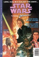 Star Wars featuring Indiana Jones 1 (FranMoff) Tags: starwars princessleia r2d2 comicbooks lukeskywalker atat chewbacca c3po hansolo millenniumfalcon