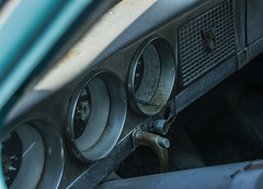 interior (frankaga) Tags: old blue classic car nikon interior sigma 18250 d3300