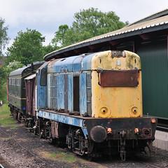 SVR - rusting (Quality BoB) Tags: diesel railway severn valley rusting 20 gala kidderminster 2016