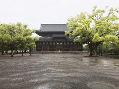 () Tags: sky building tree green nature beauty rain japan architecture outdoors kyoto day tranquility scene   tranquil iphone