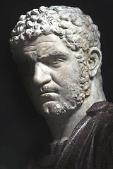Ancient Rome. Emperor Caracalla (detail), Marble bust, 3rd century AD, (Palazzo Nuovo, Rome). (mike catalonian) Tags: portrait italy sculpture detail male emperor ancientrome caracalla bustlength iiicenturyad