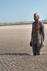 Another Place - close up (Lluniau Clog) Tags: crosbybeach crosby waterloo beach sculpture antonygormley anotherplace