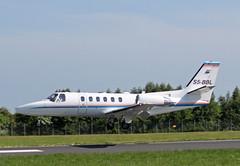 Sea Air Slovenia Cessna Citation 550 Bravo S5-BBL Southend airport (simonmurdoch262003) Tags: sea london munich airport bravo air slovenia southend cessna citation 550 s5bbl