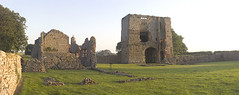Baconsthorpe Castle Panorama (Howie1967) Tags: light castle history golden ancient norfolk historic east hour anglian