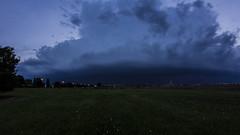 2016-05-28 (Gregg Kiesewetter) Tags: blue storm weather clouds wideangle thunderstorm lightning rokinon8mmfisheye