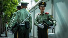 (Anwen2010) Tags: china street colour beijing police tiananmensquare ricoh tiananmen ricohgr