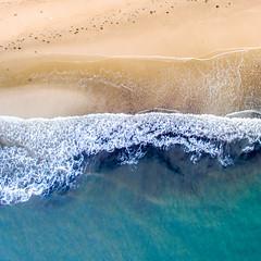 Waiting for summer. (mr.bo89) Tags: ocean blue sea beach water sand southaustralia drone