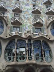 Casa Batllo (gracefaceee) Tags: barcelona house art casa nouveau batllo