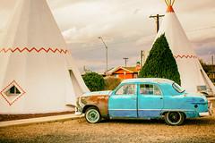 The American Road (Thomas Hawk) Tags: auto sanfrancisco california arizona usa car route66 automobile unitedstates fav50 unitedstatesofamerica motel holbrook wigwammotel fav10 fav25 rte66