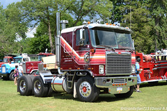 Chevy Titan Tractor (Trucks, Buses, & Trains by granitefan713) Tags: macungie atca showtruck antiuqetruck vintagetruck tractor trucktractor chevy chevytruck chevytitan titan sleeper sleepertractor cabover coe