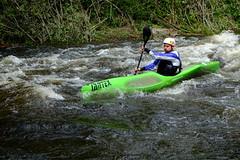 DSCF8305 (Lumire du soir) Tags: canoe correze kayack treignac comptition