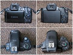 canon layout buttons powershot ergonomics comparison... (Photo: gillean55 on Flickr)