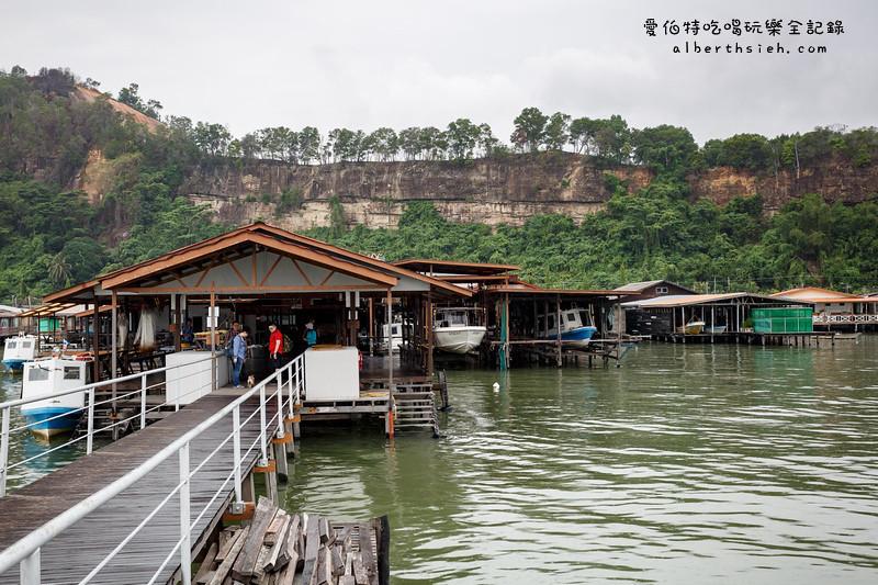 馬來西亞沙巴景點.山打根:Sim Sim Water Village