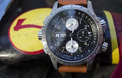 Hamilton X-Wind Auto Chrono (Hannah Fox Bird Estelle) Tags: red outdoors wind watch hamilton review wristwatch hatchet reviews chrono