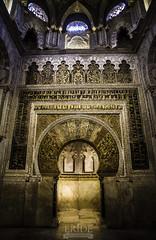 Mezquita de Crdoba ( MIHRAB) (Degayn) Tags: door luz monument puerta pentax monumento interior indoor mosque mezquita k1 mozarabe mezquitacatedral omeya mezquitadecrdoba danieldegayn fullframme eridefotografa