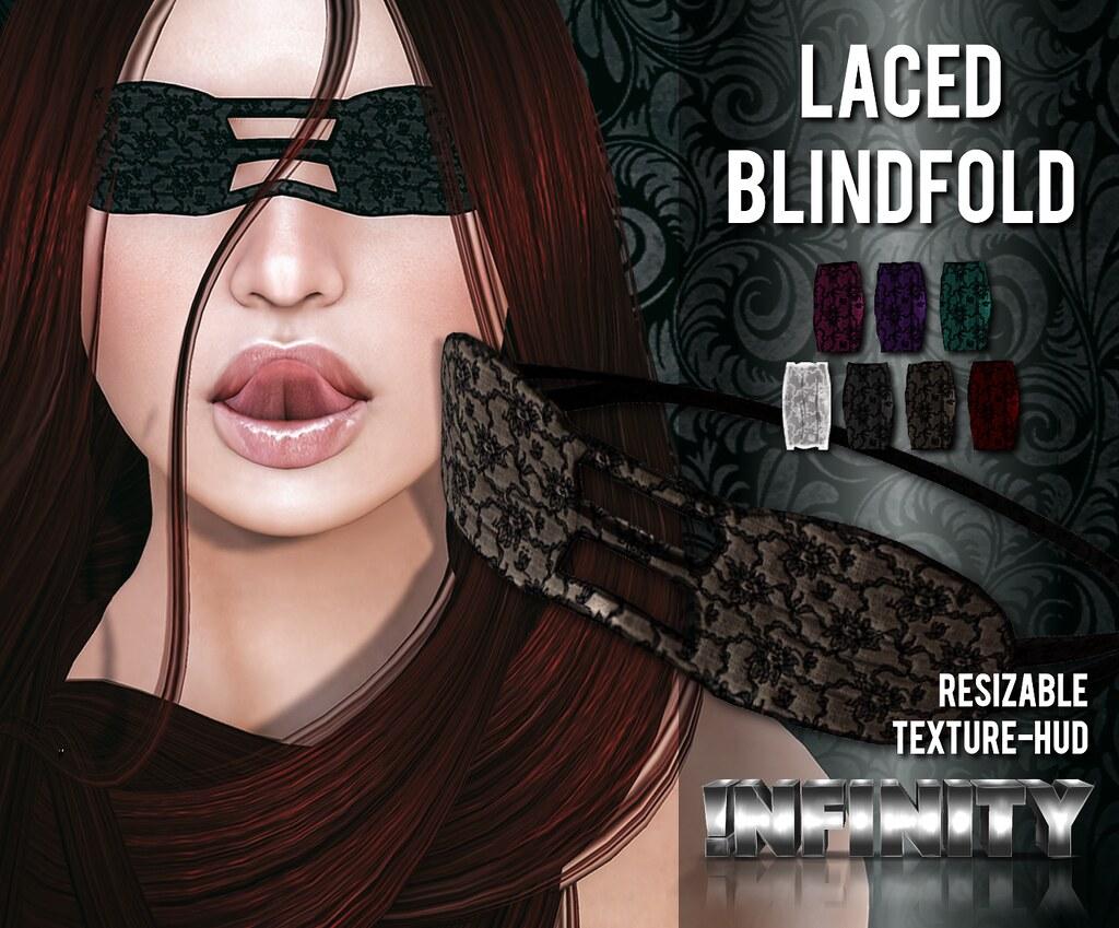 Sissy anal blindfold