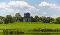 The Temple of Minerva (Preston Ashton) Tags: park blue summer sky sunshine clouds temple sunny minerva hardwick templeofminerva graww prestonashton