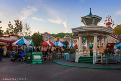 Mickey's ToonTown at Dusk (Samantha Decker) Tags: california ca dusk disneyland socal anaheim themepark mickeystoontown canonef1635mmf28liiusm canoneos6d samanthadecker socal16