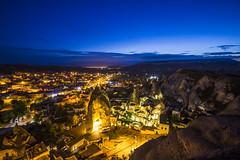 blue hour (eb78) Tags: longexposure turkey landscape middleeast bluehour cappadocia anatolia goreme