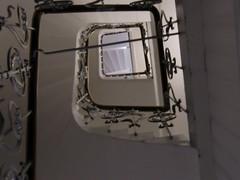Upstairs (Steffiba) Tags: building architecture stairs germany deutschland may stairway mai staircase architektur banister gebude mannheim treppen 2014 treppenhaus gelnder badenwrttemberg