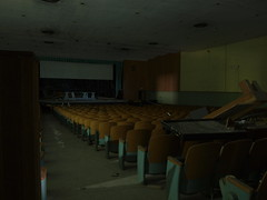 Hospital Auditorium (UHIN.UED) Tags: pictures urban newyork building history abandoned rotting beauty architecture hospital wonder fun photography virginia weird dc crazy dangerous general pennsylvania decay exploring maryland historic haunted medical illegal jersey rough dying left destroyed scarry urbex tuberculosis dierelect