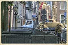 2006 - The Making of Juliana (gill4kleuren - 12 ml views) Tags: people classic film car movie working 2006 past filming making thehaque figuranten juiana