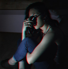 J180 (charlotte.boullier) Tags: projet365 365project 365days 365challenge challenge girl brunette retro vintage grunge hippie body hands legs smoke cigarette rock drug redlips 3d bitch rebel dark weird strange photography colors people