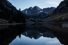 IMG_7965a (markbyzewski) Tags: mountain lake twilight colorado aspen maroonbells