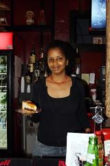 Turtle Pie New Orleans (breedlux) Tags: food sexy pie cafe louisiana sweet neworleans waitress blackgirl cheescake