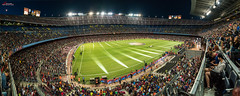 CampNou - NouCamp (_Hadock_) Tags: new city camp panorama espaa field sport night lights football big high spain nikon stadium creative commons panoramic player estadio d750 campo deporte resolution inside fc futbol tamron campnou fcbarcelona vc f28 ballpark nuevo nou noucamp croud highres gigapixel eurocup fcb 2470 eurocopa panno estadi comons panonramic