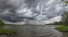 Passing Storm... (Ken Thomann Photography) Tags: trees panorama lake storm green texture nature water rain weather clouds canon river mississippi landscape fun photography pier fishing rocks quiet view unitedstates wind outdoor hiking pano gorgeous july peaceful wideangle panoramic explore boating velocity waterway stormclouds darksky thunderstorms stormchasing reallyrightstuff deepsouth tenntomwaterway canon6d canon1635mmf28lii outinnature amorymississippi kenthomannphotography