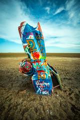cadillac ranch (FiPremo) Tags: ranch color texas 66 cadillac route amarillo