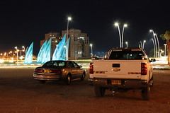 Buick LeSabre Custom (alex.guschyn) Tags: usa chevrolet car bronze night truck israel buick gm general country pickup motors chevy american western custom lesabre silverado fullsize