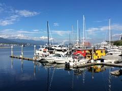 Sunny Sunday greetings to my Flickr friends! (peggyhr) Tags: canada vancouver marina boats bc thegalaxy peggyhr coalharbourseawalk thegalaxyhalloffame thelooklevel1redaddphotos super~sixbronzestage1
