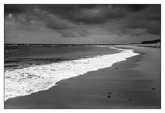 Basin Beach, Mona Vale, Sydney  #182 (lynnb's snaps) Tags: bw film beach pool waves rangefinder olympus d76 xa ilford fp4 monavale 2015 v700