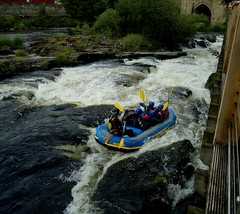 Phew!! Llangollen Boat White Water Rapids July 2016 (mrd1xjr) Tags: white water boat july rapids llangollen phew 2016