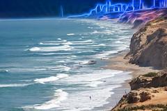 Seascape with waves (A_VIN) Tags: seascape sea waves beach israel
