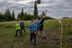 . (www.piotrowskipawel.pl) Tags: boys field sport ball football jump play action joy photojournalism documentary ukraine journalism decisivemoment goalkeeper documentaryphotography lvivoblast pawepiotrowski sudovavyshnia