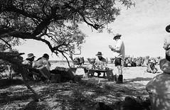 RAD20160610_024 - Munga Thirri Expedition (Kodak BW400CN) (Cecilia Temperli) Tags: rad20160610 arollinadayadayinaroll australia camelexpedition camels dromedaries dromedary trekking desert packcamels film kodak kodakbw400cn nikon nikonfm3a simpsondesert mungathirrisurveyexpedition lunchbreak australiandesertexpeditions