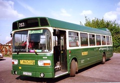 1826 OOX 826R (WMT2944) Tags: travel west national leyland midlands 1826 timesaver mk1 metrowest oox wmpte 826r